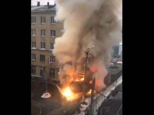 Ρωσία : Έκρηξη σε θάλαμο αποσυμπίεσης σε νοσοκομείο για κοροναϊό