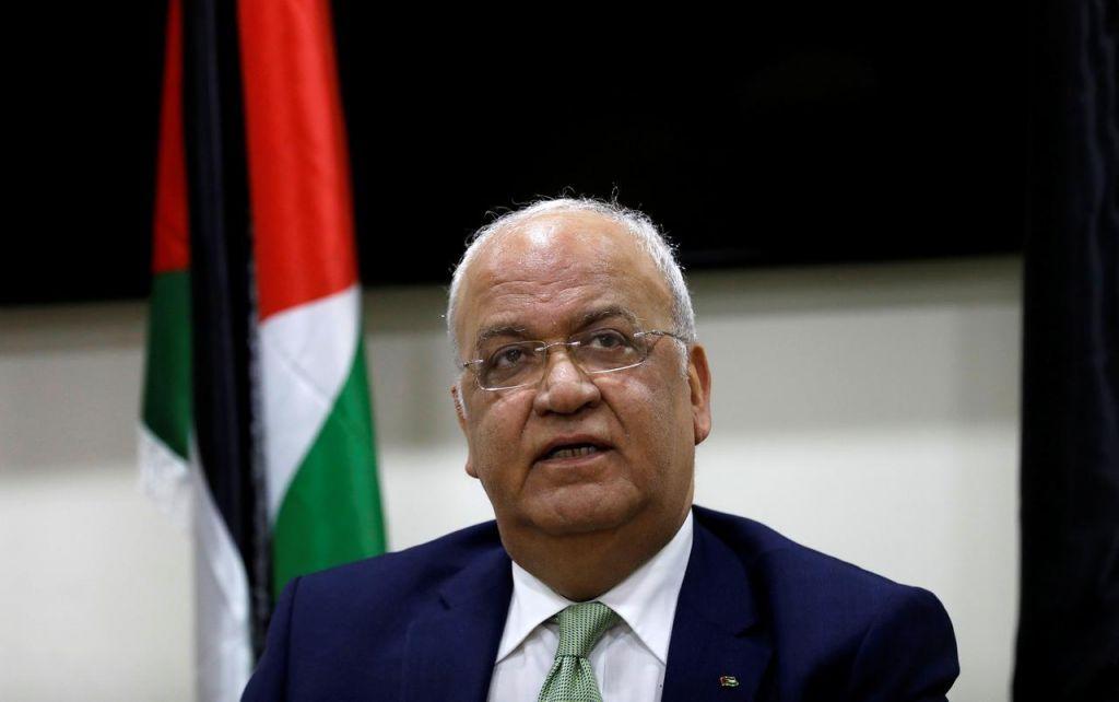 Κοροναϊός : Μολύνθηκε ο διαπραγματευτής των Παλαιστινίων Σάεμπ Ερεκάτ