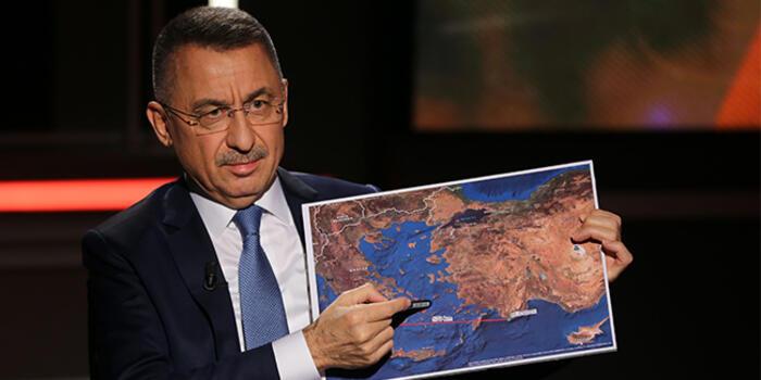 Φουάτ Οκτάι : Θα συνεχίσουμε τις έρευνες ακόμα και νότια της Κρήτης