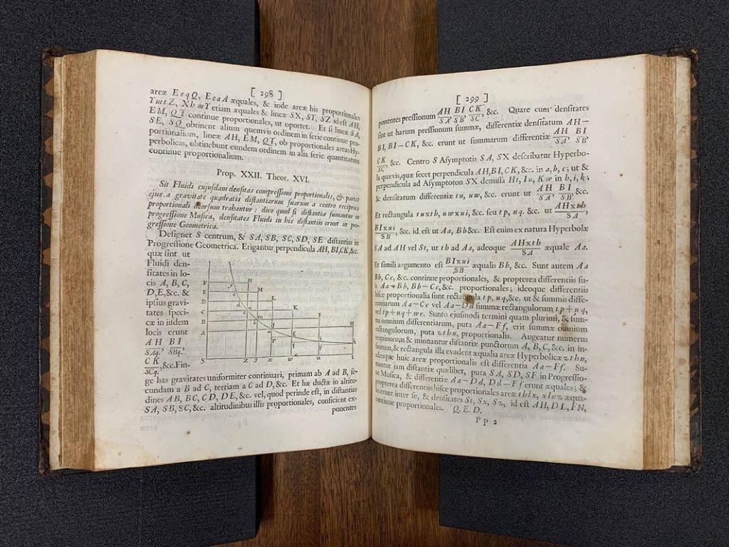 Ανακάλυψαν άγνωστα αντίτυπα της 1ης έκδοσης του εμβληματικού «Principia» του Νεύτωνα