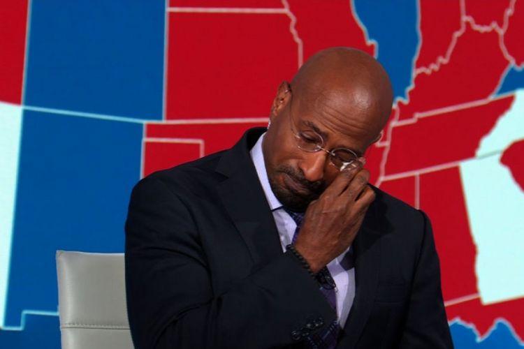 Εκλογές ΗΠΑ : Σχολιαστής του CNN ξεσπά σε κλάματα για τη νίκη Μπάιντεν   in.gr