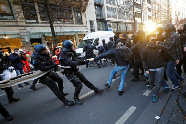 Γερμανία – Κοροναϊός : Διαδηλώσεις κατά της χρήσης μάσκας και των περιοριστικών μέτρων