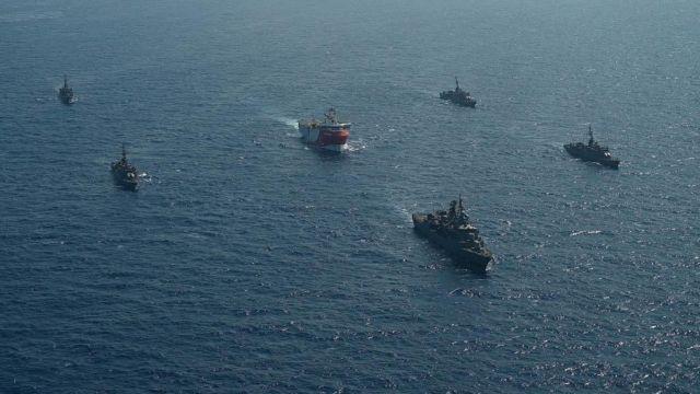 Oruc Reis : Εξέδωσαν νέα Νavtex οι Τούρκοι – Έχει ισχύ μέχρι 29 Νοεμβρίου