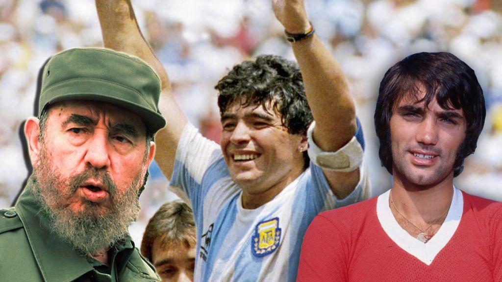 25η Νοεμβρίου: Η μέρα που «έφυγαν» Φιντέλ Κάστρο, Τζορτζ Μπεστ και Ντιέγκο Μαραντόνα | in.gr