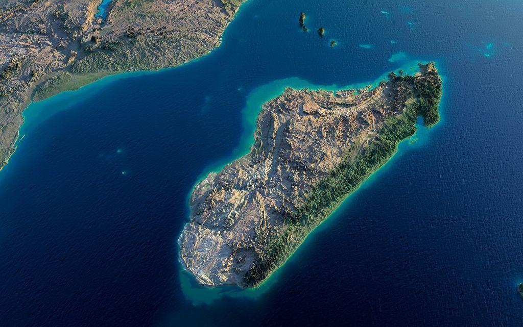 Τεκτονικές δυνάμεις διαλύουν το νησί της Μαδαγασκάρης
