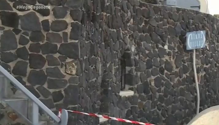 Εξιχνιάστηκε η δολοφονία του ξενοδόχου στην Σαντορίνη