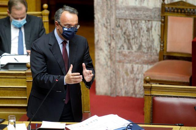 Βουλή : Έντονη κόντρα Σταϊκούρα – ΣΥΡΙΖΑ για το ρυθμό ανάπτυξης το 2021