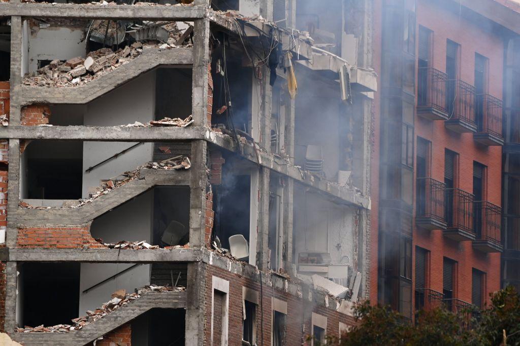 Μαδρίτη : Τουλάχιστον δύο νεκροί από την έκρηξη – Συγκλονιστικές εικόνες