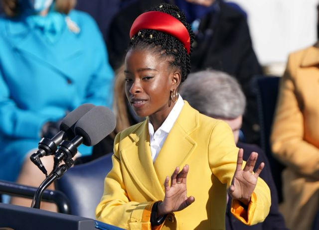 Ορκωμοσία Μπάιντεν : Ποια είναι η 22χρονη Αφροαμερικανή ποιήτρια που έκλεψε την παράσταση