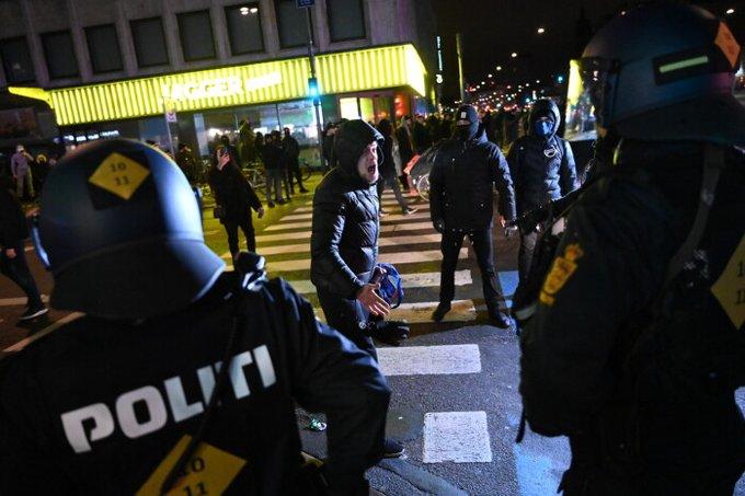 Δανία : Επεισόδια σε διαδηλώσεις κατά των μέτρων για τον κοροναϊό – 9 συλλήψεις