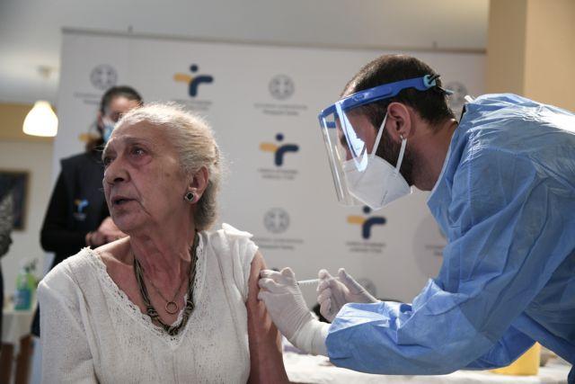 Κοροναϊός : Ξεκινά τη Δευτέρα ο εμβολιασμός για άτομα άνω των 85 ετών