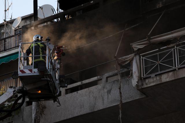 Παγκράτι : Πυρκαγιά σε διαμέρισμα