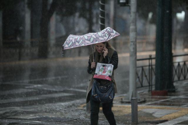 Καιρός : Έρχονται καταιγίδες και χαλαζοπτώσεις από Δευτέρα – Συστάσεις από την Πολιτική Προστασία