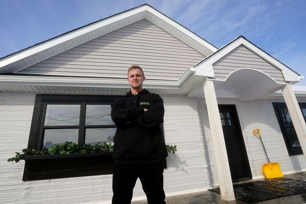 Εκτυπωτής τριών διαστάσεων χτίζει σπίτι σε 8 ημέρες