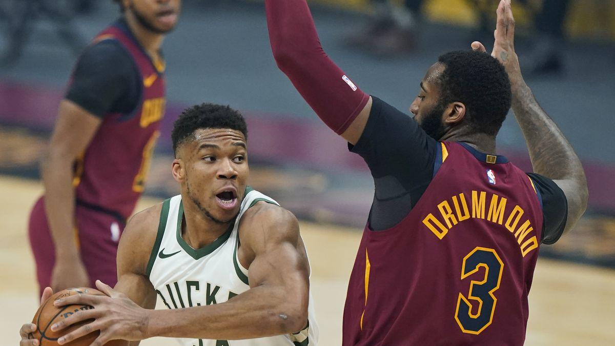 Αποτέλεσμα εικόνας για Cleveland Cavaliers - Milwaukee Bucks 105-123
