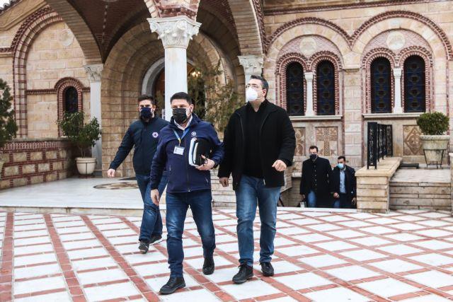 Τζιτζικώστας στο MEGA : Δεν είχε ταξιδέψει ο ιερέας από τη Θεσσαλονίκη