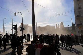 Επεισόδια στο πανεκπαιδευτικό συλλαλητήριο στην Αθήνα
