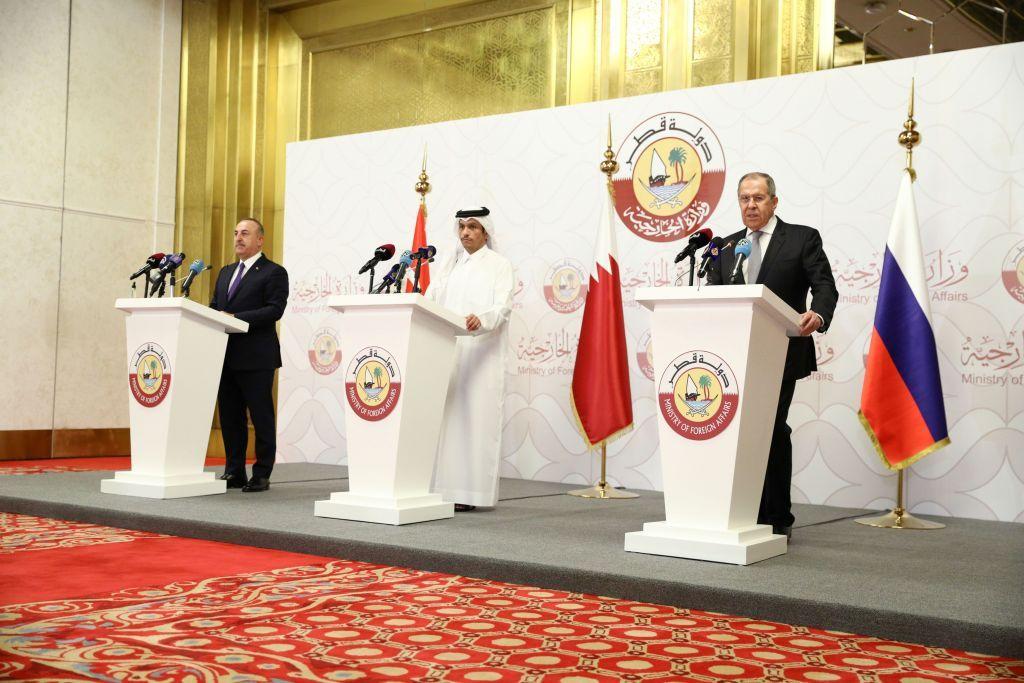 Τριμερής Ρωσίας, Τουρκίας και Κατάρ για τη Συρία