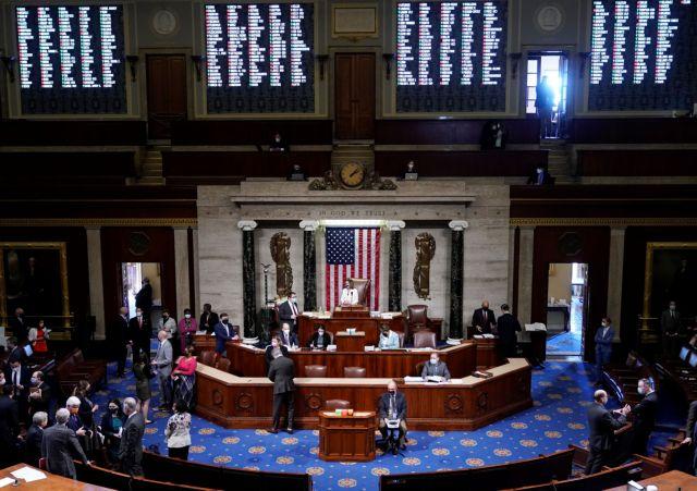 ΗΠΑ: Οριστικό πράσινο φως για το πακέτο «μαμούθ» των 1,9 τρισ. δολαρίων