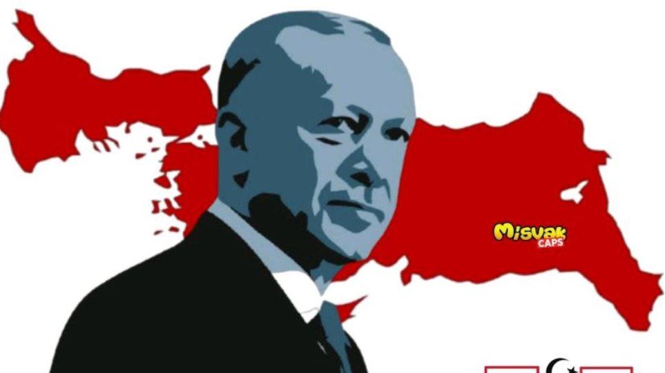Σατιρικό περιοδικό «σχεδίασε» σε γραμματόσημο περιοχές βαλκανικών χωρών ως εδάφη τηςΤουρκίας