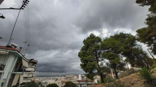 Καιρός : Βροχές και καταιγίδες – Σε ποιες περιοχές [χάρτης]