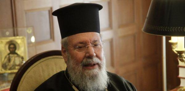 Αρχιεπίσκοπος Κύπρου : Διαδηλώνετε για τα μέτρα κατά του κοροναϊού αλλά όχι για τις αξιώσεις της Τουρκίας