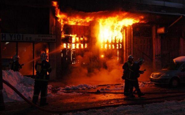Τραγωδία στις Σέρρες : Πυρκαγιά από σόμπα - Απανθρακώθηκε ηλικιωμένος στο σπίτι του (βίντεο)