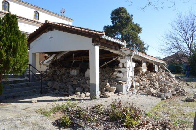 Σεισμός στην Ελασσόνα: Μη κατοικήσιμα 1.424 σπίτια