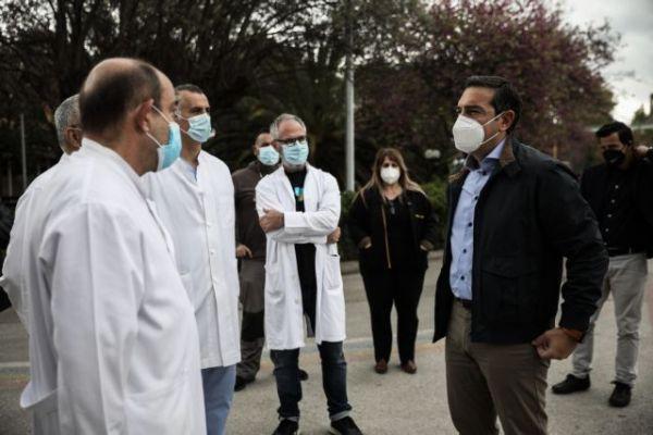 Τσίπρας: Η κατάσταση στα νοσοκομεία παραμένει δραματική -Να βάλουμε τέλος στην τραγωδία