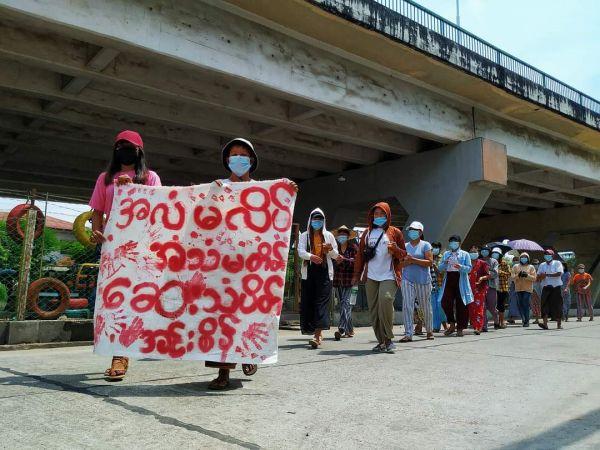 Μιανμάρ : Οι δυνάμεις ασφαλείας πυροβόλησαν εναντίον διαδήλωσης υγειονομικών