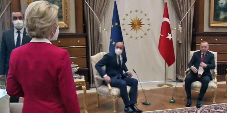 Sofagate: Σοβαρό επεισόδιο μεταξύ Ιταλίας και Τουρκίας για την προσβολή στην φον ντερ Λάιεν