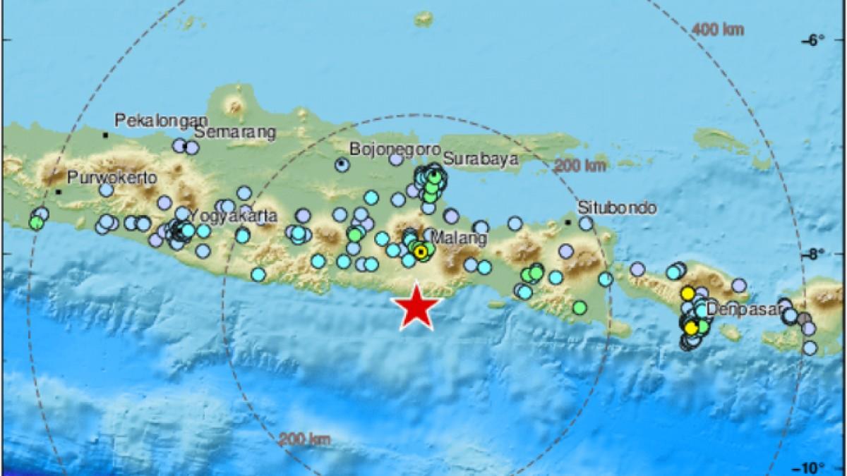 Ινδονησία : Σεισμός 5,9 βαθμών με επτά νεκρούς
