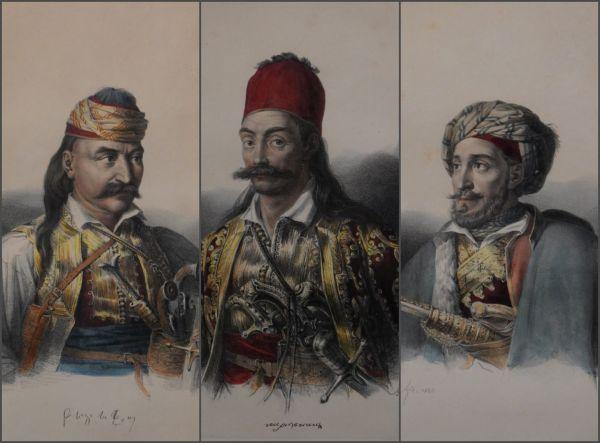 Οι ρεαλιστικές προσωπογραφίες των οπλαρχηγών του Γερμανού φιλέλληνα Κρατσαΐζεν