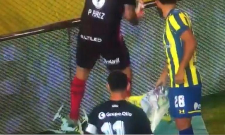 Παίκτης στην Αργεντινή νευρίασε με drone που εισέβαλε στο γήπεδο και… το έσπασε