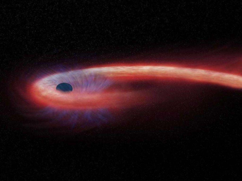 Μαύρη τρύπα συνελήφθη να καταπίνει άστρο στο μέγεθος του Ήλιου
