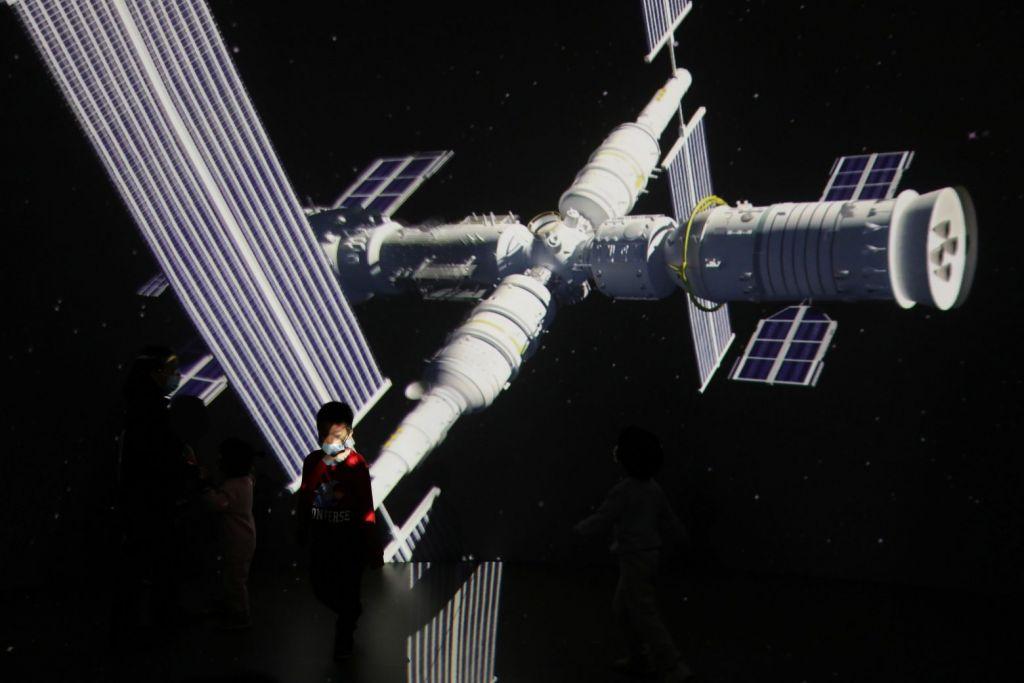 Διαστημικό μεταγωγικό φέρνει προμήθειες στον διαστημικό σταθμό της Κίνας