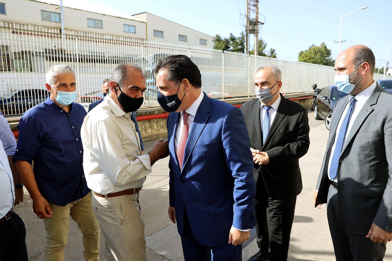 Ο Γεωργιάδης στο εργοστάσιο της Pitsos – Τι είπε για τους απολυμένους   in.gr