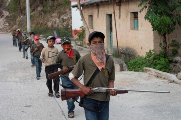 Μεξικό: Παιδιά στα όπλα