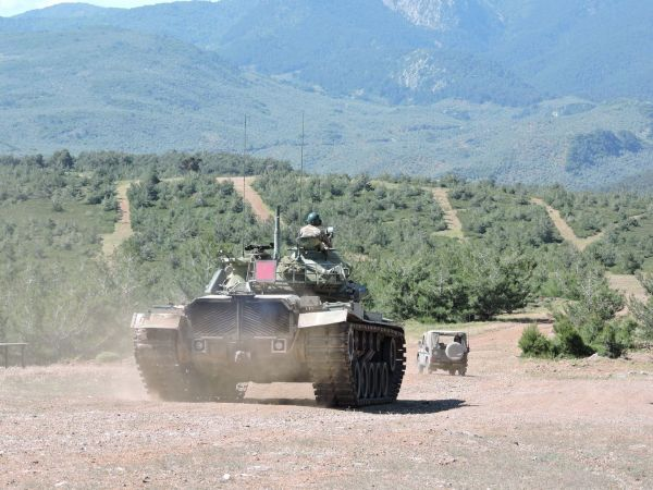 The firepower of the Greek islands - Impressive images from military exercises 5