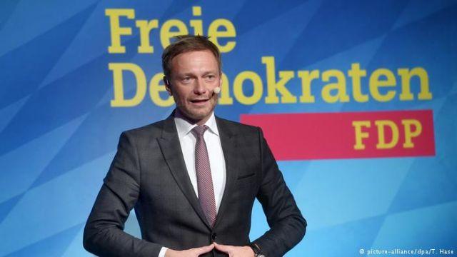Γερμανία: Ο Κρίστιαν Λίντνερ επανεξελέγη πρόεδρος του Φιλελεύθερου κόμματος με 93%