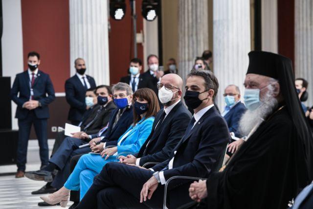 Μητσοτάκης: Πάντα στις δυσκολίες η Ελλάδα έστρεφε το βλέμμα στην Ευρώπη – Σκοτεινό διάλλειμα το 2015