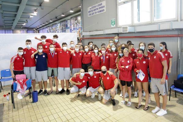 Πρωταθλητής στην κολύμβηση για 62η φορά ο Ολυμπιακός