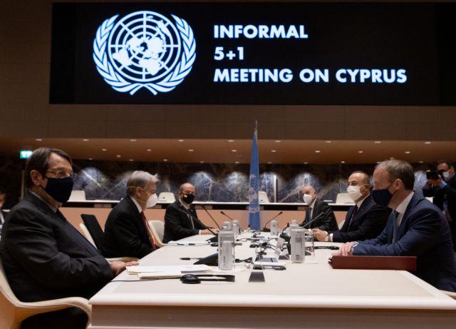 Τσαβούσογλου: Ζητά αναγνώριση του ψευδοκράτους για να συνεχιστούν οι συνομιλίες για το Κυπριακό