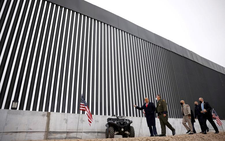 ΗΠΑ: Επίσκεψη Τραμπ στο Τέξας ενόψει της κατασκευής τείχους στα σύνορα με το Μεξικό