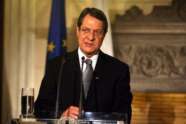 Αναστασιάδης: Εγκάθετοι εντός και εκτός δεν θα μετατρέψουν την Κύπρο σε προτεκτοράτο της Τουρκίας