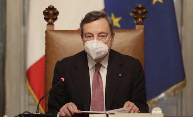 Ντράγκι – Covid 19: Δεν θα κάνω τη δεύτερη δόση με Astrazeneca