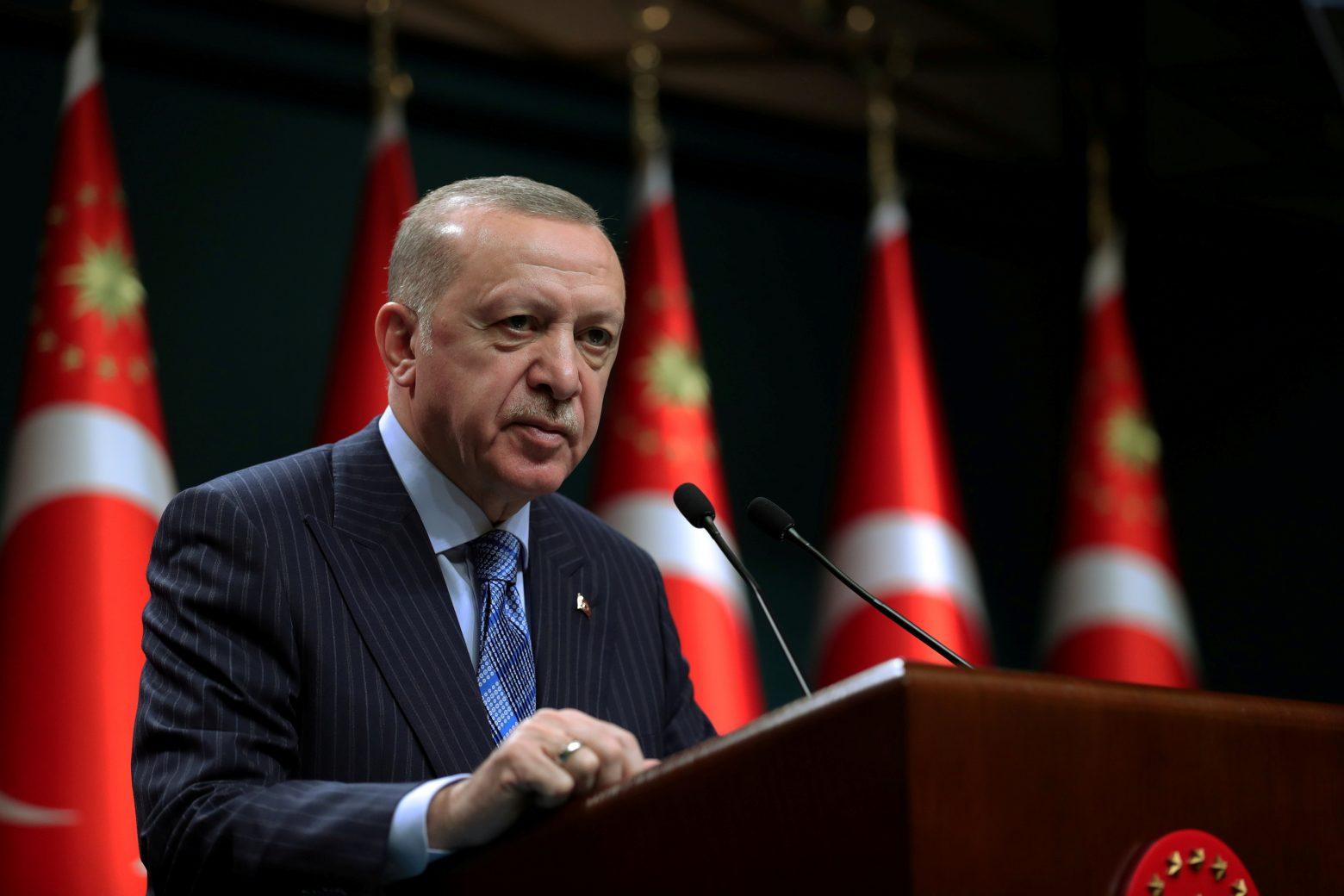 Ερντογάν: Ελπίζουμε στη μεγιστοποίηση των σχέσεών μας με την Αίγυπτο και χώρες του Κόλπου