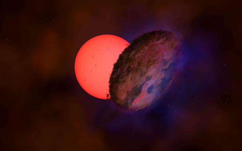 Εντυπωσιακή ανακάλυψη – Δείτε το γιγάντιο άστρο που «αναβοσβήνει»