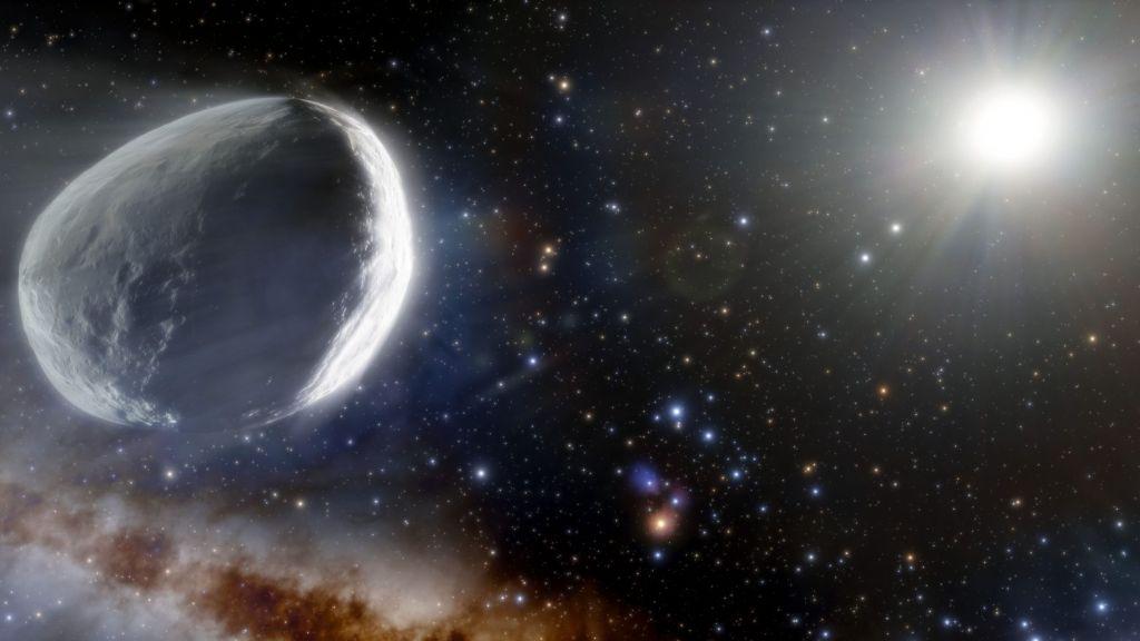 Ανακαλύφθηκε γιγάντιος κομήτης που προέρχεται από τις εσχατιές του ηλιακού μας συστήματος