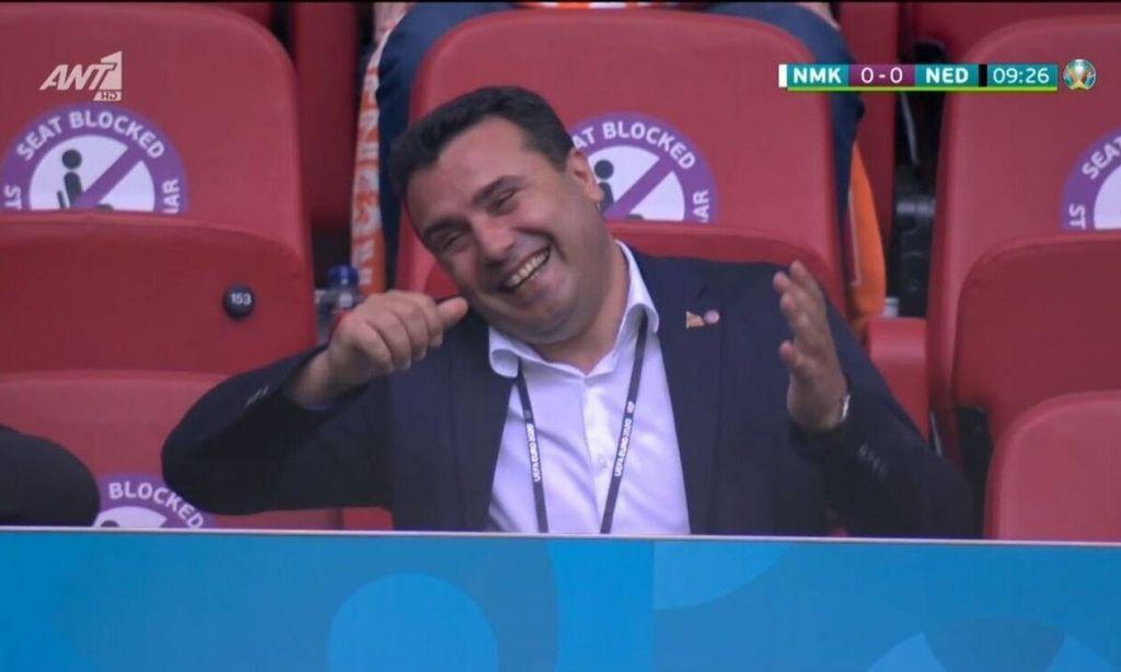 Euro 2020: Νέα πρόκληση Ζάεφ από το γήπεδο – «Η ποδοσφαιρική ομάδα της Μακεδονίας»